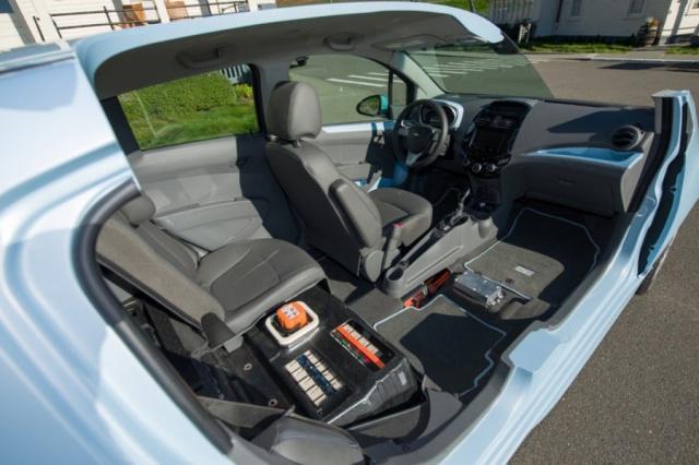 salon de Los Angeles 2012 : la Chevrolet Spark EV  881778ChevroletSparkEV2