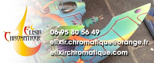 Service de peinture Elixir Chromatique 882626Bandeaucartedevisite