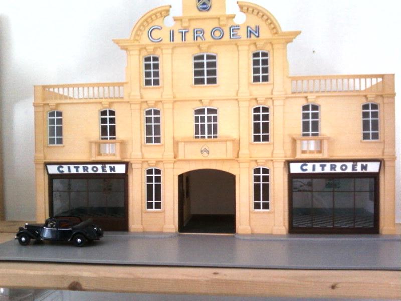 Hervé WAGUET Garages et bâtiments divers miniatures au 1/43 884417GarageDeauville