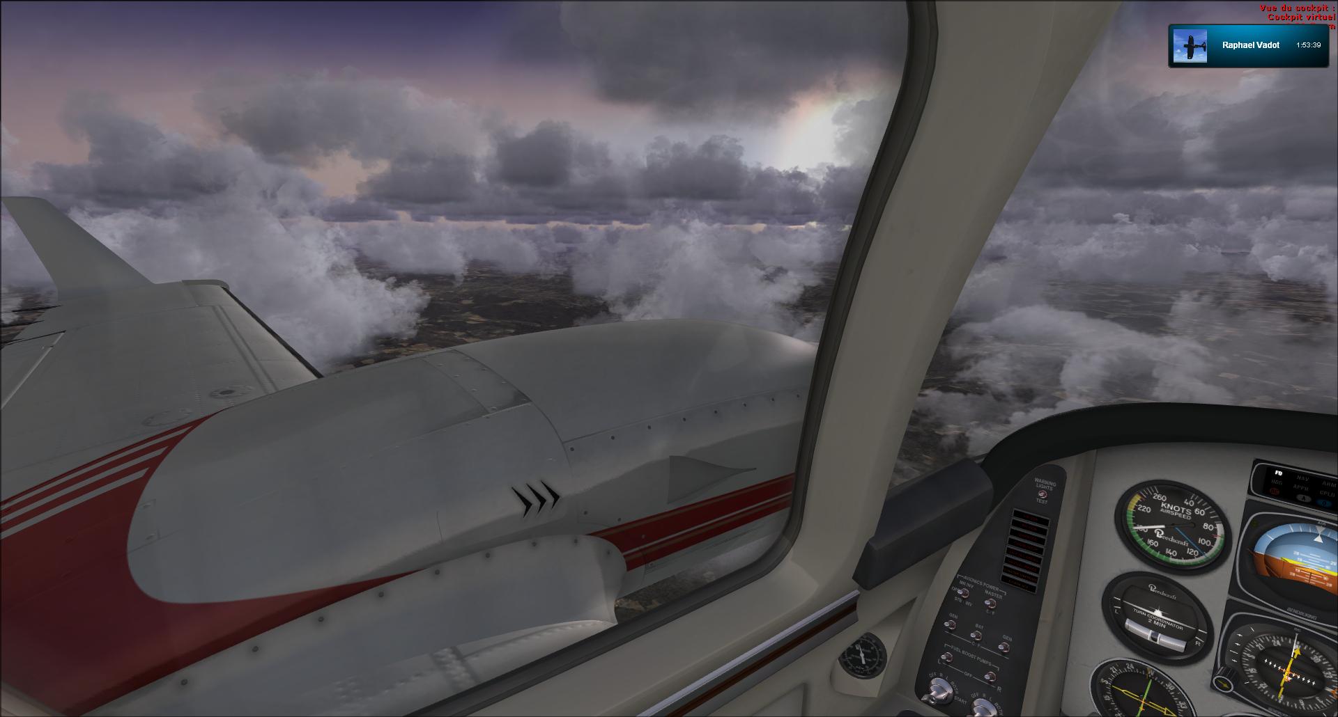 Vol VFR entre Bale et Clermont ferrand 8849302012112518210852