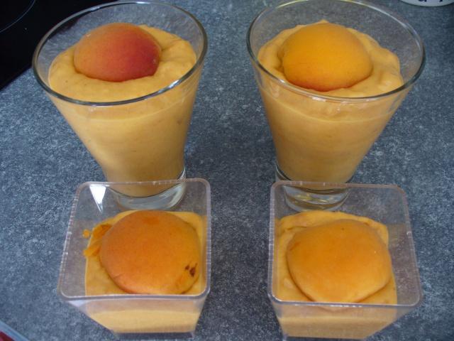 Mousse aux abricots + photo 885089P1070537