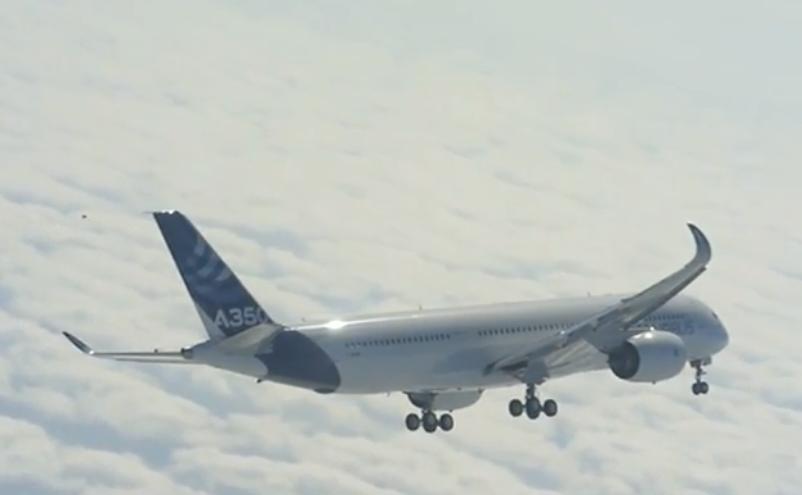 Vol d'essai de l'A350 885282a3503
