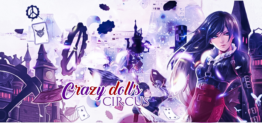 Crazy doll's circus