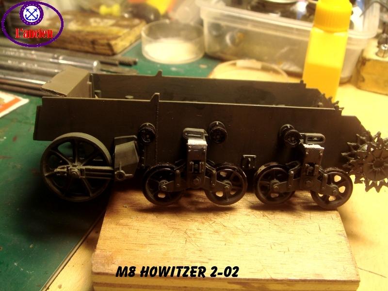 M8 US Howitzer  au 1/35 par l'ancien 885882m8202