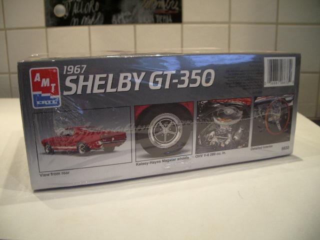 mustang shelby 350 GT 1967  au 1/25 de chez AMT/ERTL  886878IMGP0904