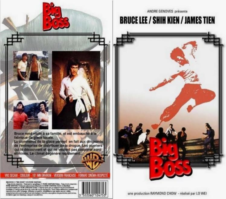 """Bruce Lee """"Big Boss"""" version Génovès 889924VHSBIGBOSSAG"""