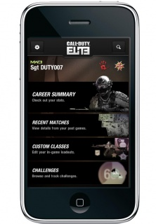 Call of Duty Elite, l'application pour iPhone/iPad  et Android enfin disponible 890503iphoneelite1