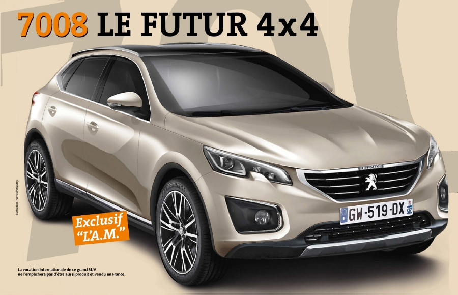 201? - [Peugeot] 6008/7008 ? - Page 2 8934837008