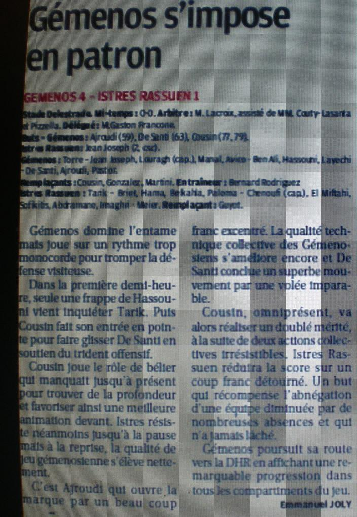 GEMENOS ....A TOMBEAUX OUVERTS// DHR - Page 2 894253IMGP3782
