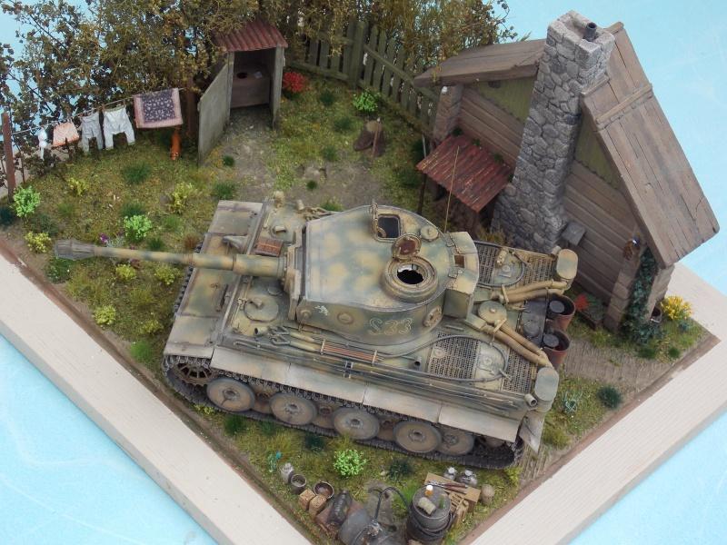 TIGRE S33  avant la bataille de Koursk juillet 43 (Dragon 1/35 dio DIODUMP) - Page 8 894647DSCN4710