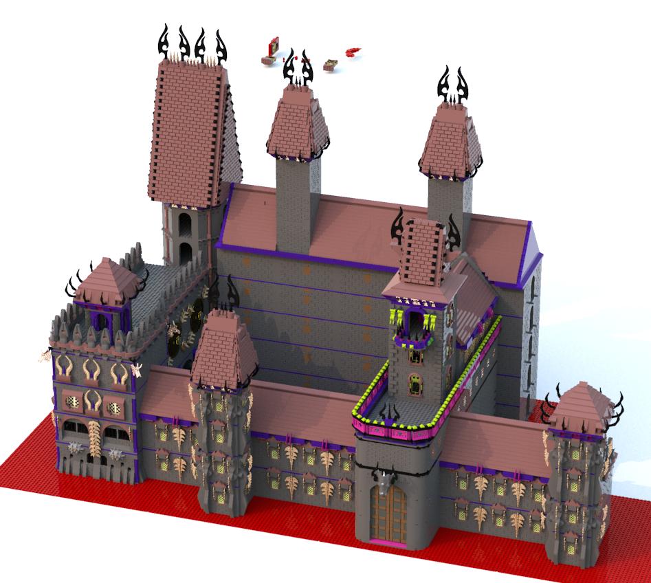 [MOC][LDD]Chateau de Ragana 8948724118011