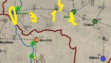 3ème mission : embuscade près de Moulins (Alex0159) 894990trajet