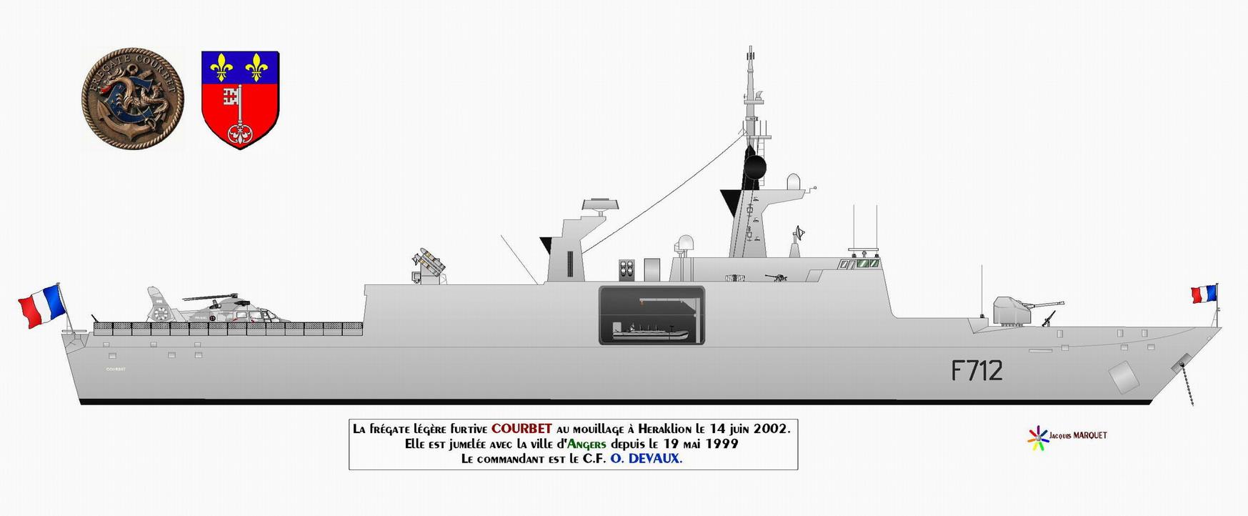 courbet f712  fregate