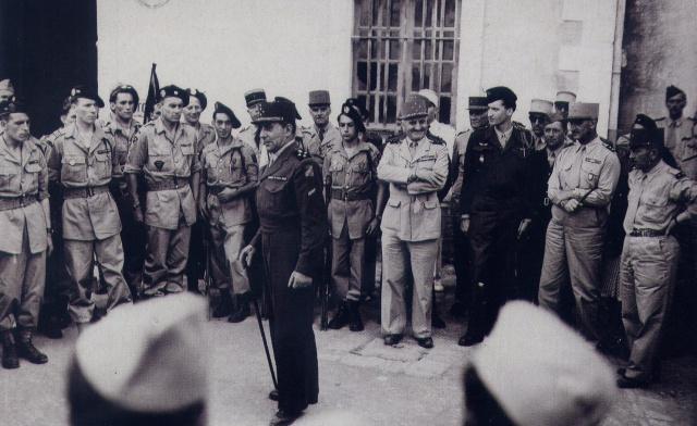 25e DAP (Division Aéroportée - 1946 à 1948) 896923Juin461erChocAlgrie