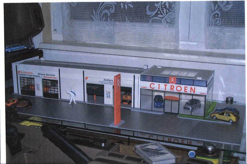 Hervé WAGUET Garages et bâtiments divers miniatures au 1/43 897369272
