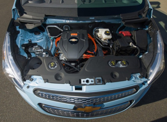 salon de Los Angeles 2012 : la Chevrolet Spark EV  897908ChevroletSparkEV1