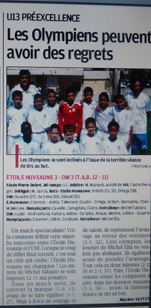 FOOTBALL CLUB DE L' EtOILE ET DE L' HUVEAUNE  898673CopiedeP1180566