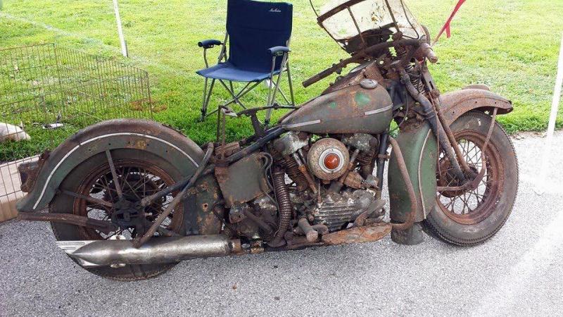 Les vieilles Harley....(ante 84) par Forum Passion-Harley - Page 40 898911knukle