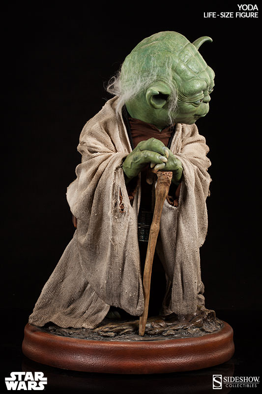 Sideshow Collectibles - Star Wars Yoda Life-Size Figure 898937265