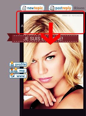 Avatar du profil décalé sur Chrome 899620Imageproblme