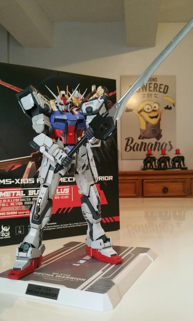 Review/Edito : Strike Gundam Metal Build 1/72 by Moshow la leçon Chinoise donnée a Bandai  901782201610061446091