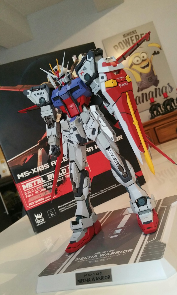Review/Edito : Strike Gundam Metal Build 1/72 by Moshow la leçon Chinoise donnée a Bandai  904274201610061452081