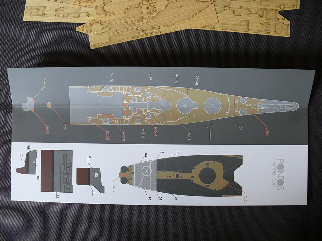 Pont en bois classe IOWA 1/350 Pontos Model 904422wooddeckNewJersey10