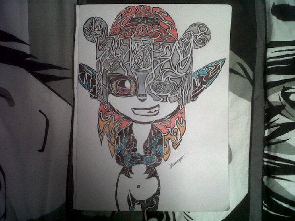 Mes dessins sur Zelda et autres sagas Nintendo 910346Midonatribal