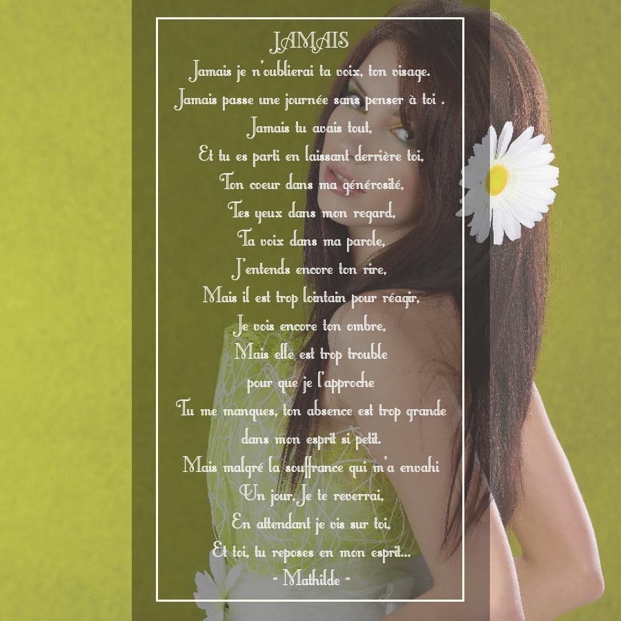 poeme du jour de colette - Page 4 911582poeme368jamais