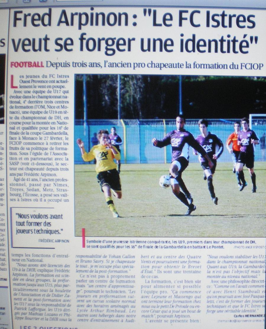 FC ISTRES B  // DHR  MEDITERRANEE  et AUTRES JEUNES  - Page 2 913712IMGP4134
