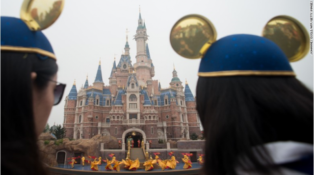 Soucis de fréquentation pour Shanghai Disney Resort ? 915094w162