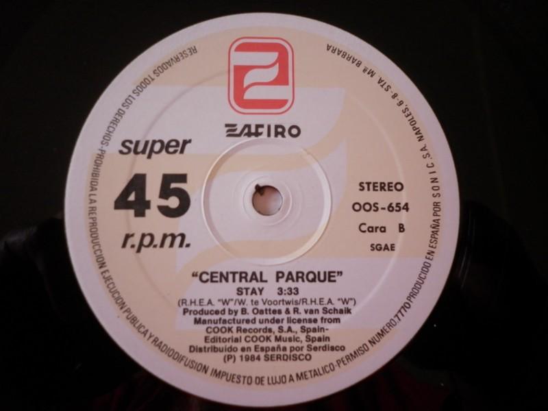 12'-CENTRAL PARQUE-EVERYTHING YOU DO/STAY-84-ZAFIRO REC 915286c3