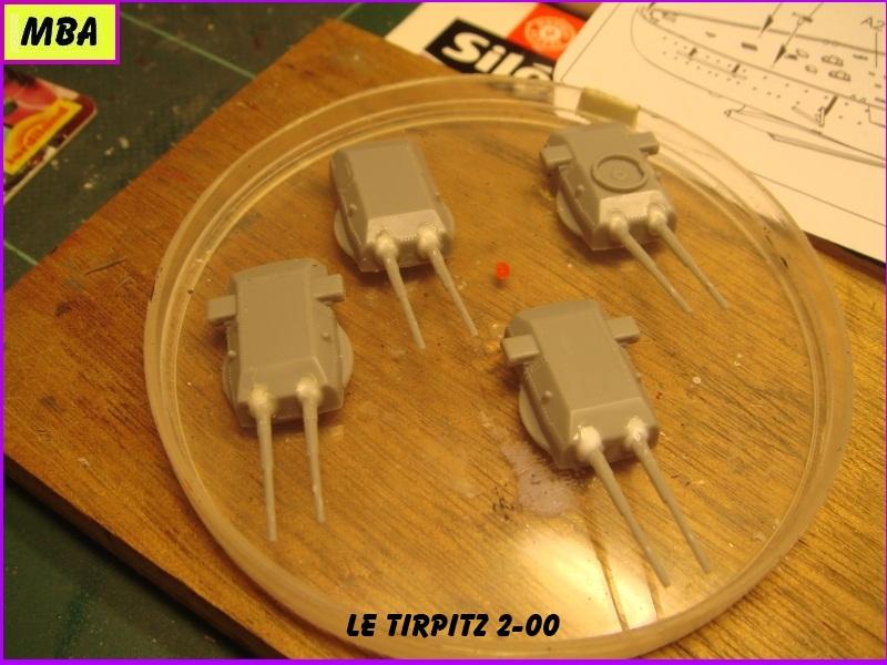 Le TIRPITZ au 1/700ème - DRAGON 916095Tirpitz200