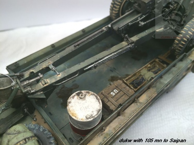 Duck gmc,avec canon de 105mn,a Saipan - Page 2 916828IMG4498