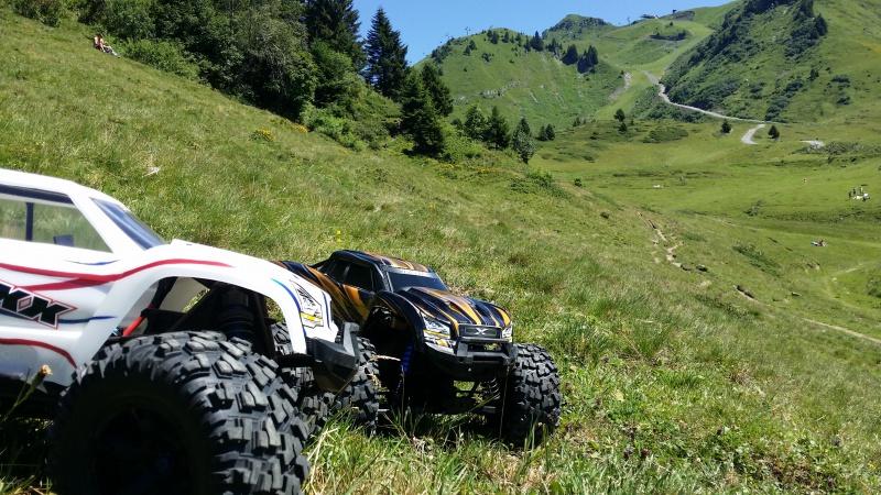 Mes x-maxx en vacances dans les Alpes. 91717720160807124331