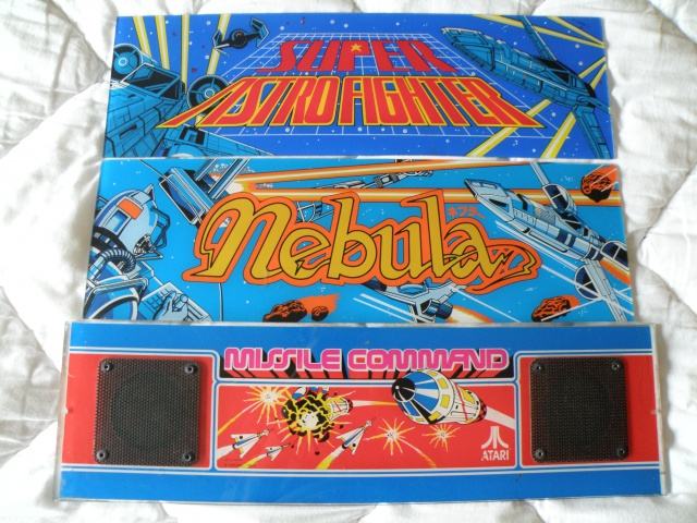 3 marquee Arcade : astro fighter, nebula, missile command 920770PC081764