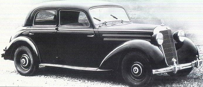 Mercedes 170 et 220. La renaissance 922517170S