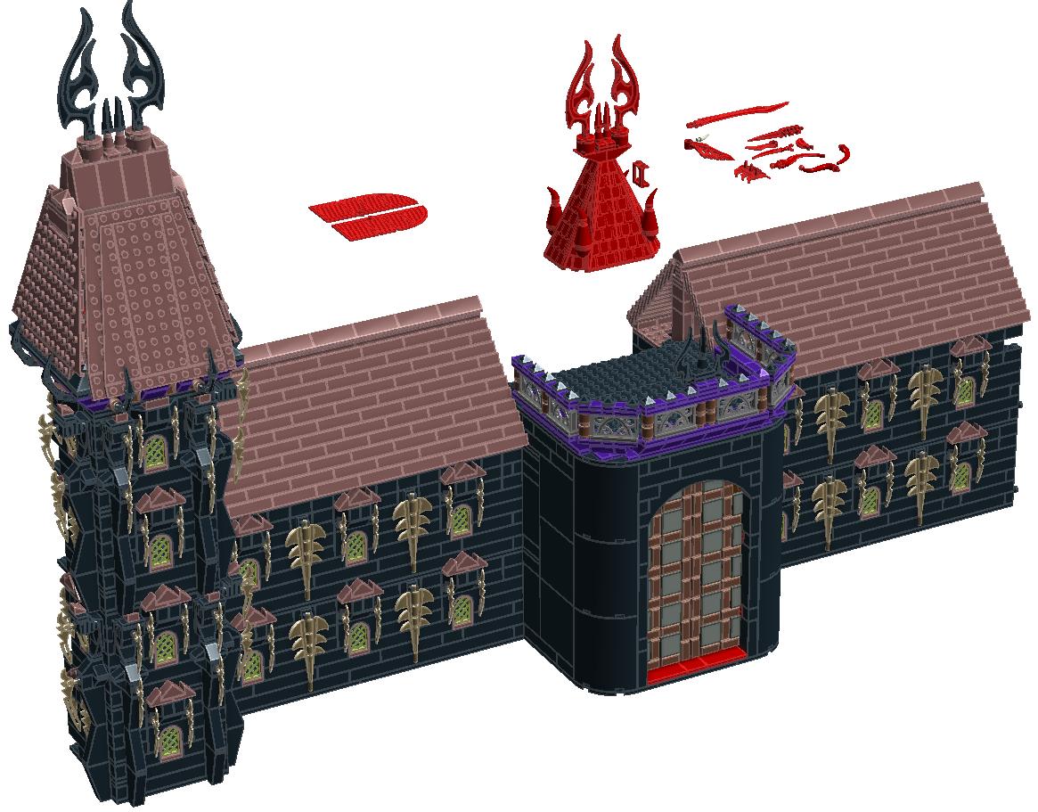 [MOC][LDD]Chateau de Ragana 9229204118001