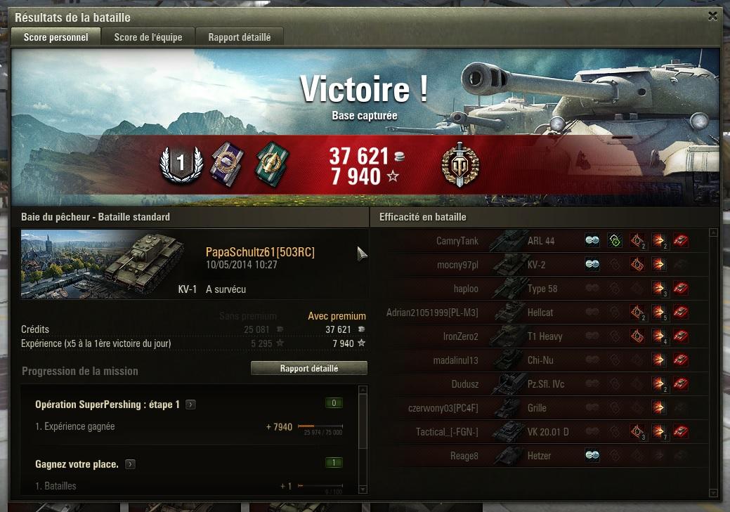 Victoire méritée 923966WOT
