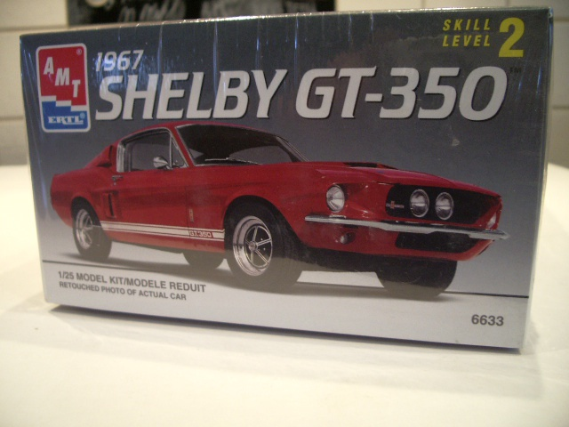 mustang shelby 350 GT 1967  au 1/25 de chez AMT/ERTL  924104IMGP0905