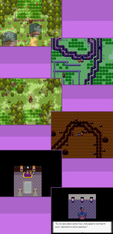 [RMXP] Pokémon version Violet Poison 929188Screen