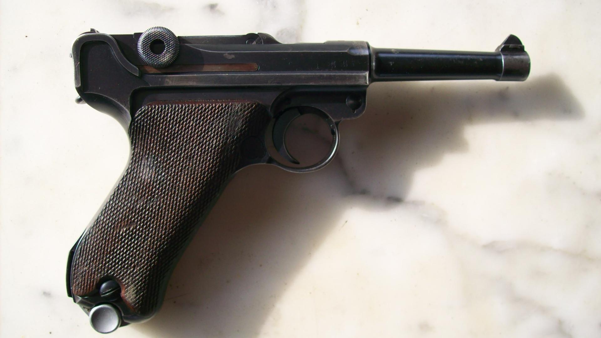 Luger 1918 DWM 7,65para. 9316021002058