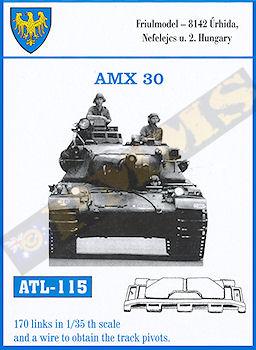 Friullmodel. Chenilles AMX 30 (1er type). Ref ATL 115. 933834CGHENILLESX30FRIULL