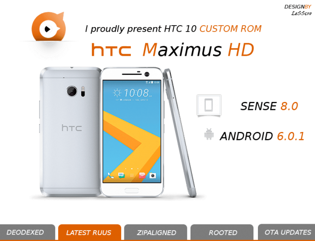 [ROM HTC 10] MaximusHD | 4.0.0 | Android 8.0 | Fast&Stable | APM | OTA | 3.16.401.2 [17/03/2018] 934180httpwwwrhiffstachfootballgraphicsm10LogoM10