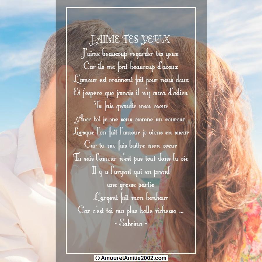 poeme du jour de colette - Page 4 934384poeme285jaimetesyeux