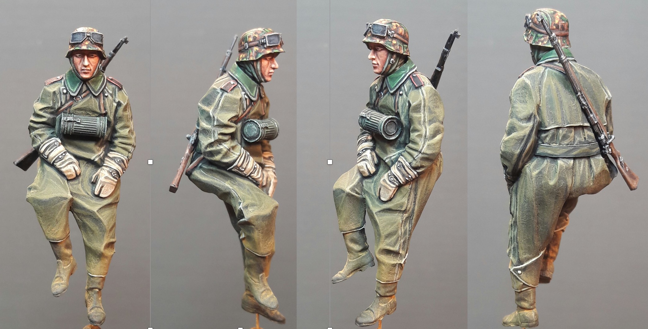 Zündapp KS750 - Sidecar - Great Wall Hobby + figurines Alpine - 1/35 - Page 2 934693Driver14views