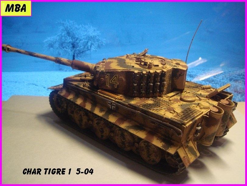 TIGRE 1 (Panzerkampfwagen VI Tiger Ausführung E - Sonderkraftfahrzeug 181) 935984Tigre504