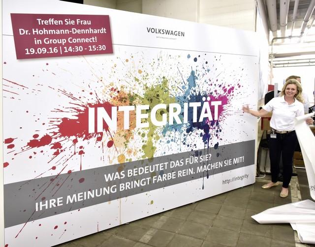 Lancement de la campagne sur l'Intégrité : le Groupe Volkswagen précise les règles de conduite en matière d'intégrité et respect des valeurs  937333hddb2016al01938large