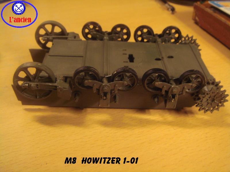 Le M8 US HOWITZER au 1/35è Tamiya par l'Ancien 938394m8101