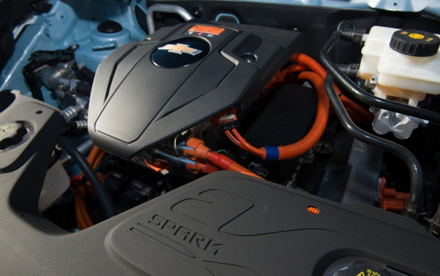 salon de Los Angeles 2012 : la Chevrolet Spark EV  940634ChevroletSparkEV7